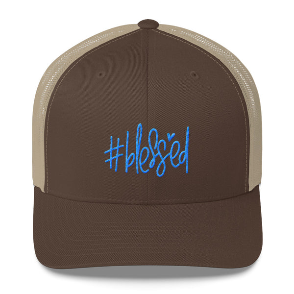 #blessed Trucker Cap - Apparelized