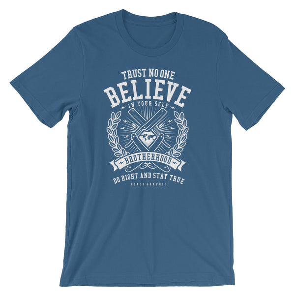Trust No One Short-Sleeve Unisex T-Shirt - Apparelized