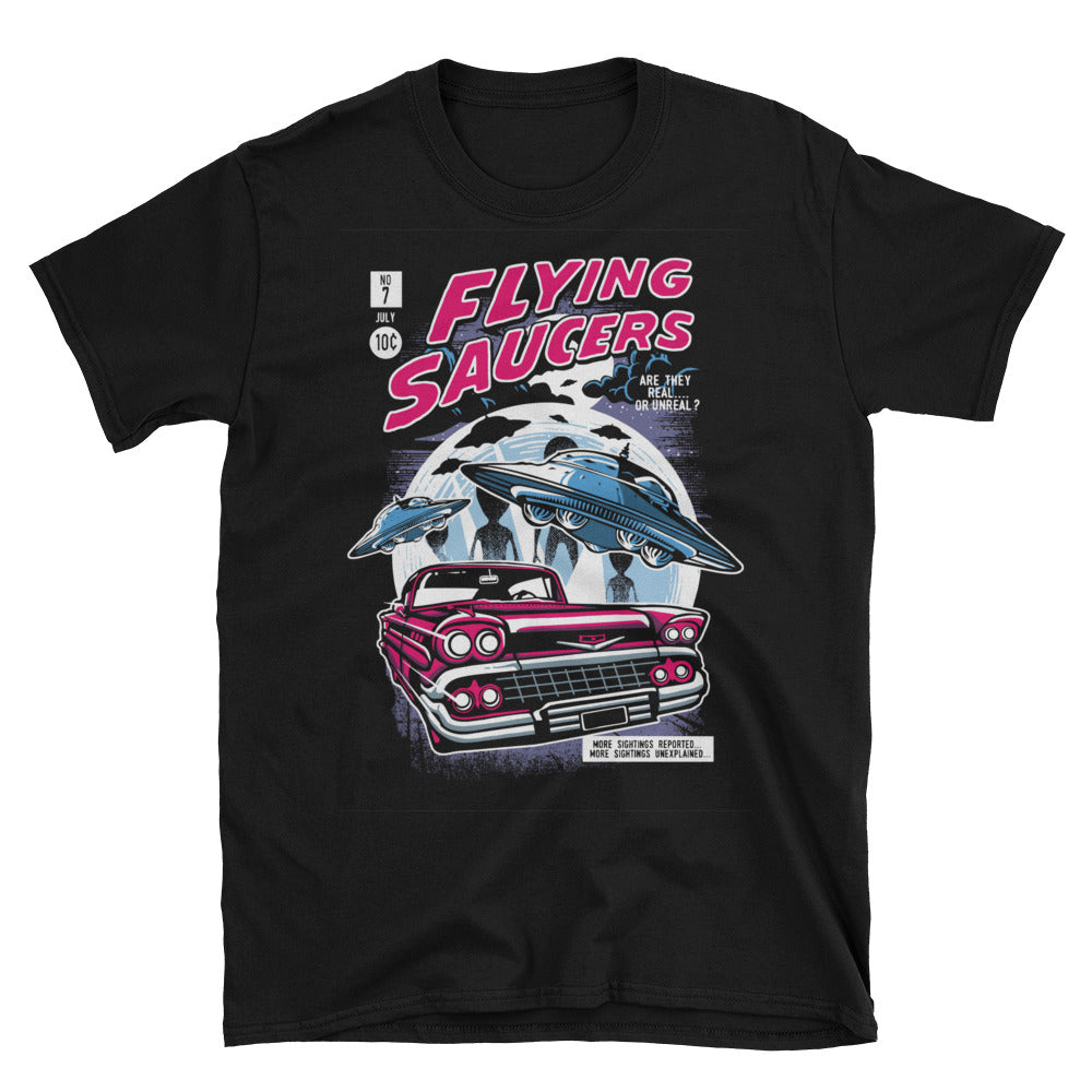 Flying Saucer Short-Sleeve Unisex T-Shirt - Apparelized