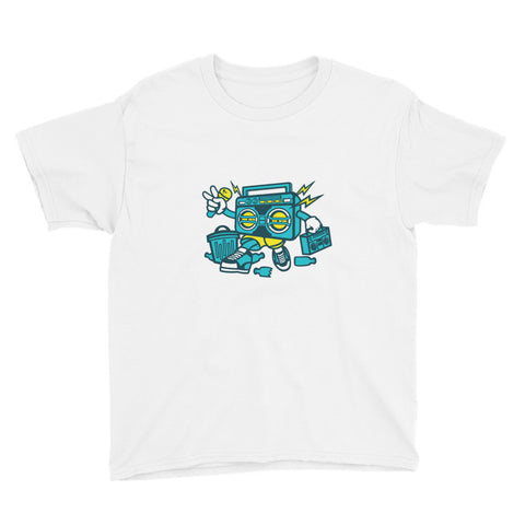 Boombox Youth Short Sleeve T-Shirt - Apparelized