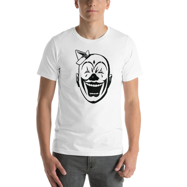 Clown Face Short-Sleeve Unisex T-Shirt - Apparelized