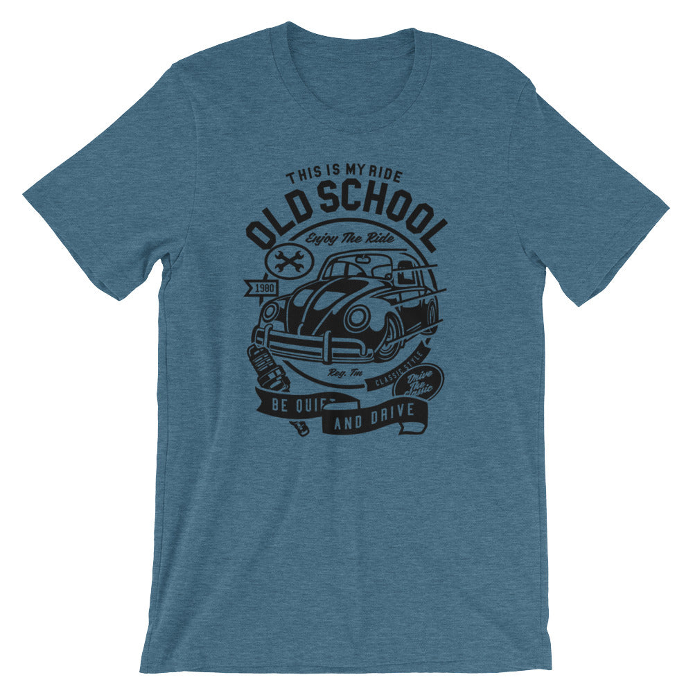 Old School VW Short-Sleeve Unisex T-Shirt - Apparelized
