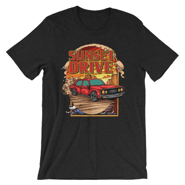 Sunset Drive Short-Sleeve Unisex T-Shirt - Apparelized