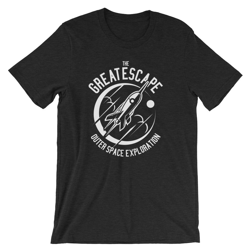 The Great Escape Retro Rocket Short-Sleeve Unisex T-Shirt - Apparelized