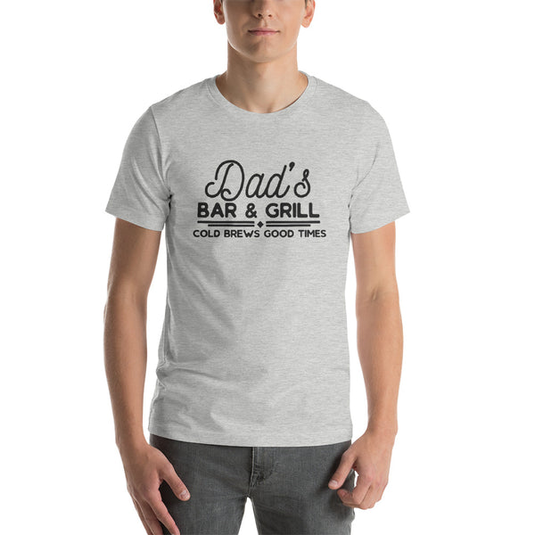 Dad's Bar and Grill Short-Sleeve Unisex T-Shirt - Apparelized