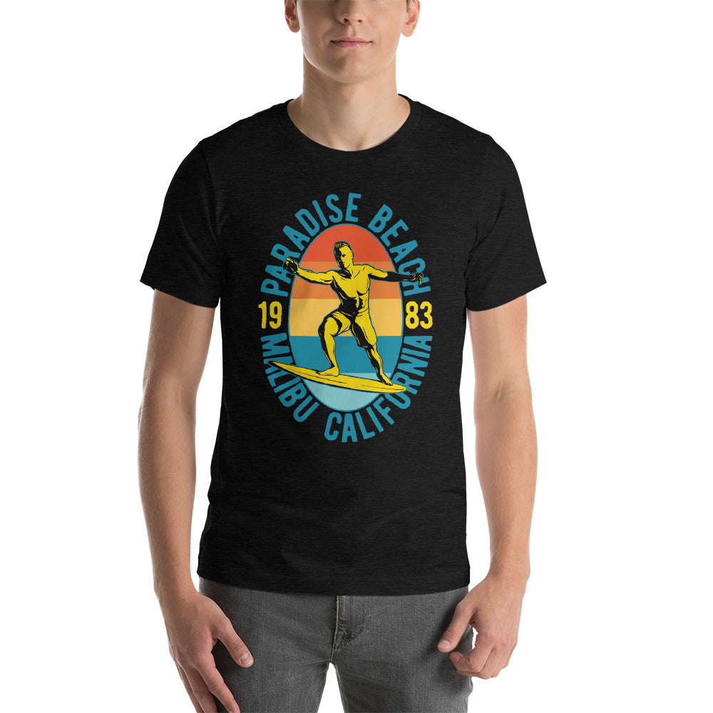Paradise Beach Short-Sleeve Unisex T-Shirt
