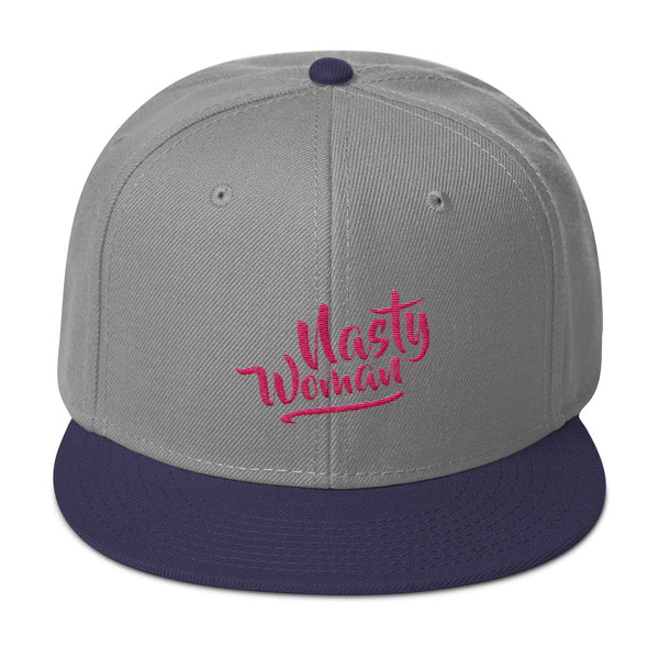 Nasty Woman Snapback Hat - Apparelized