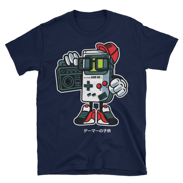 Game Kid Boombox Unisex T-Shirt - Apparelized