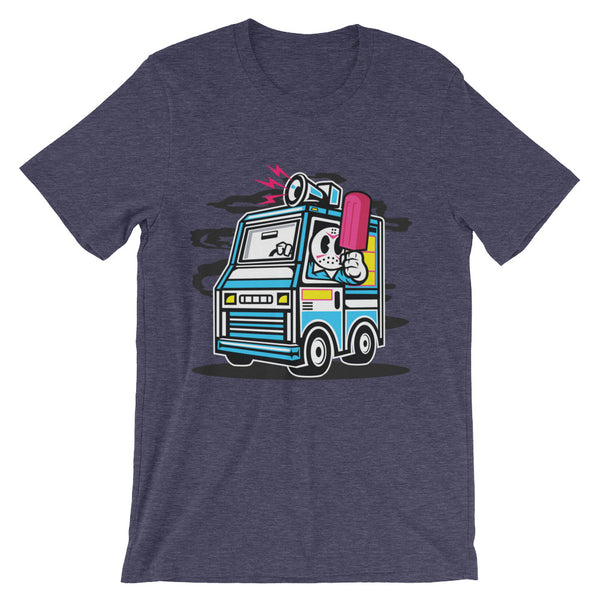 Killer Ice Cream Truck Unisex short sleeve t-shirt - Apparelized