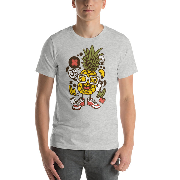 Funny Pineapple Short-Sleeve Unisex T-Shirt - Apparelized