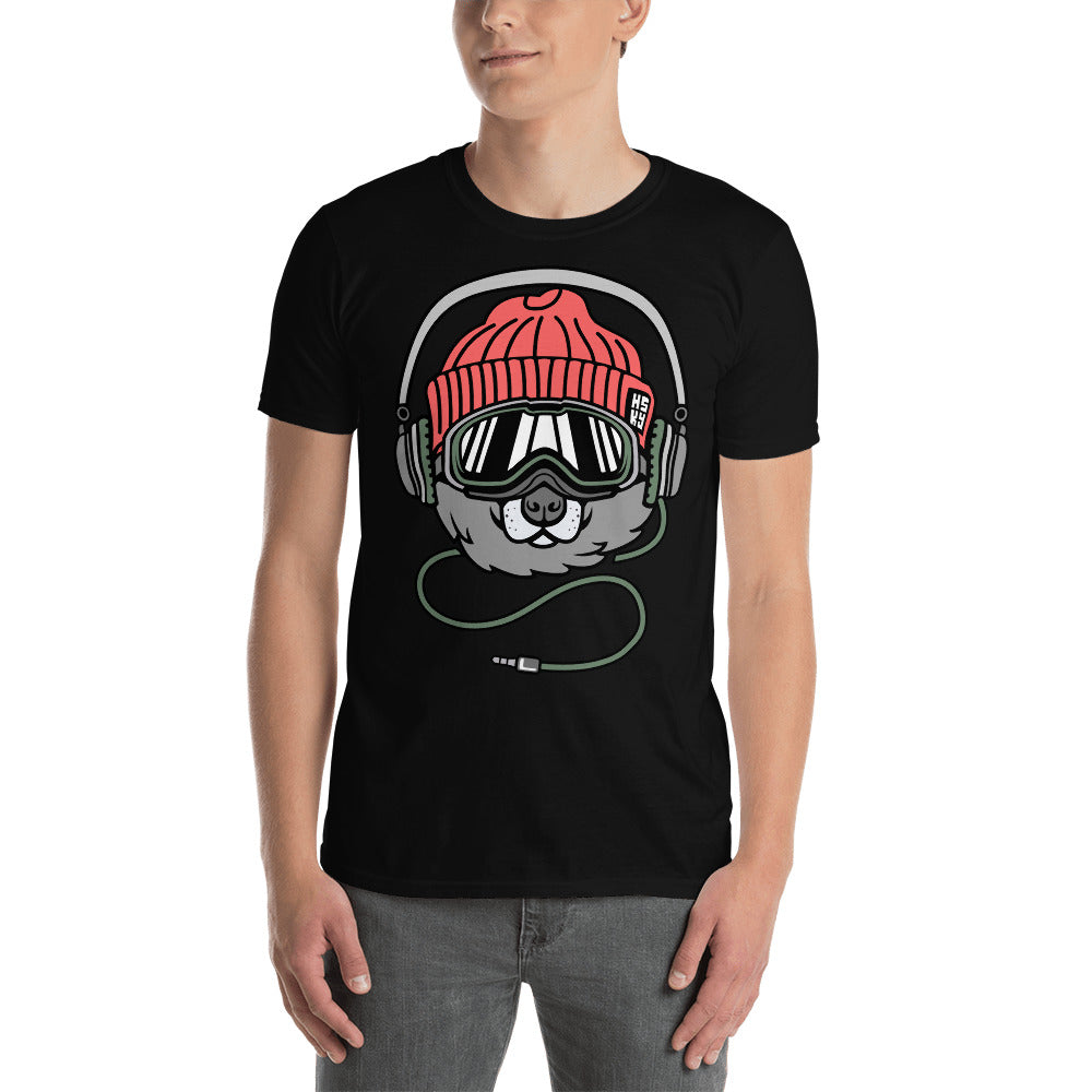 Snowboard Cool New Design Short-Sleeve Unisex T-Shirt