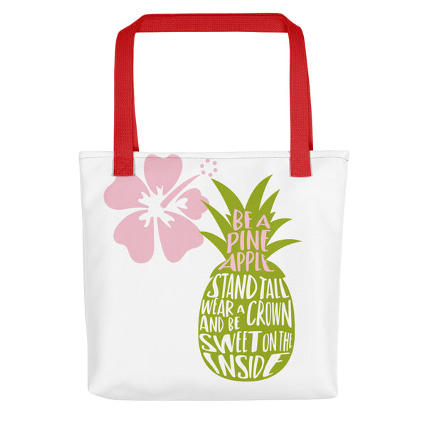 Be a Pineapple Tote bag - Apparelized