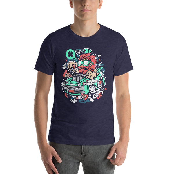 Old School Racer Short-Sleeve Unisex T-Shirt - Apparelized