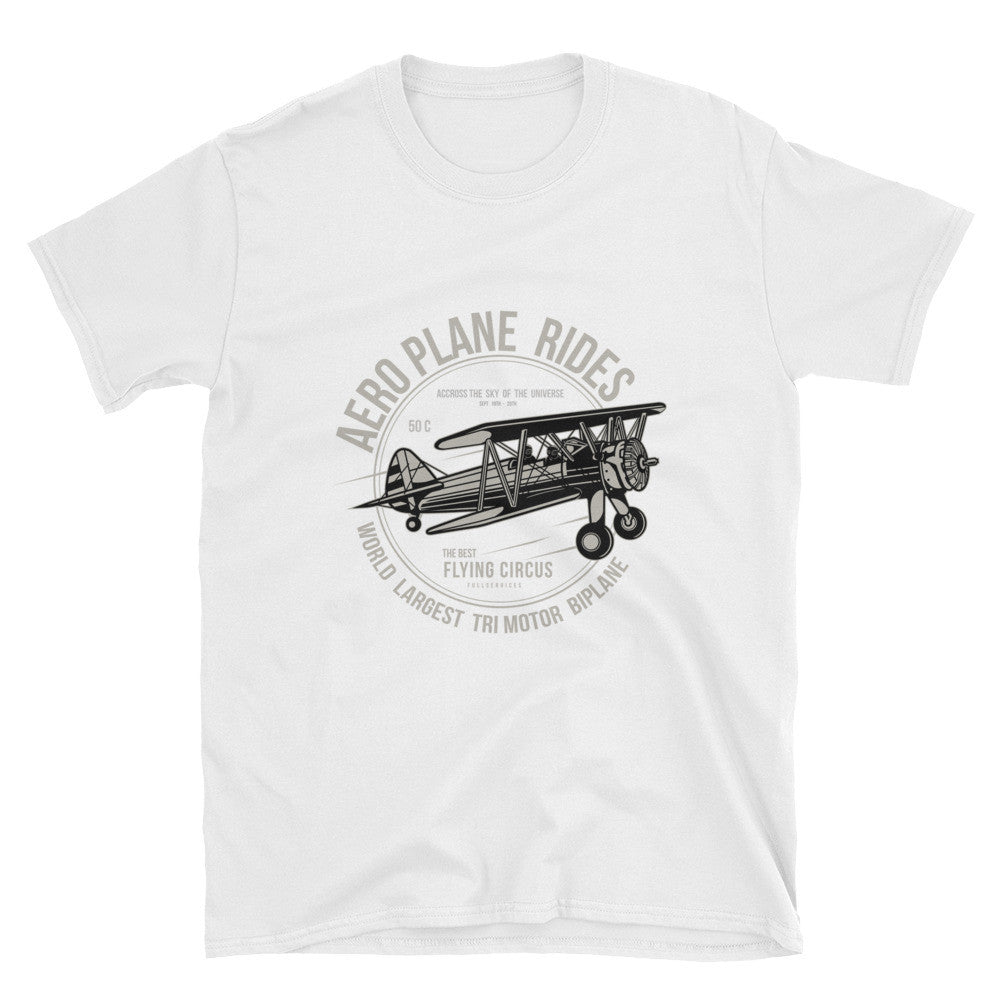 Aeroplane Rides Unisex T-Shirt - Apparelized