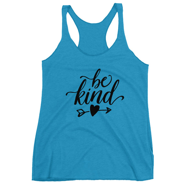 Be Kind Women's Racerback Tank - Apparelized