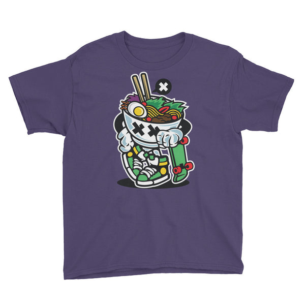 Noodle Skater Youth Short Sleeve T-Shirt - Apparelized