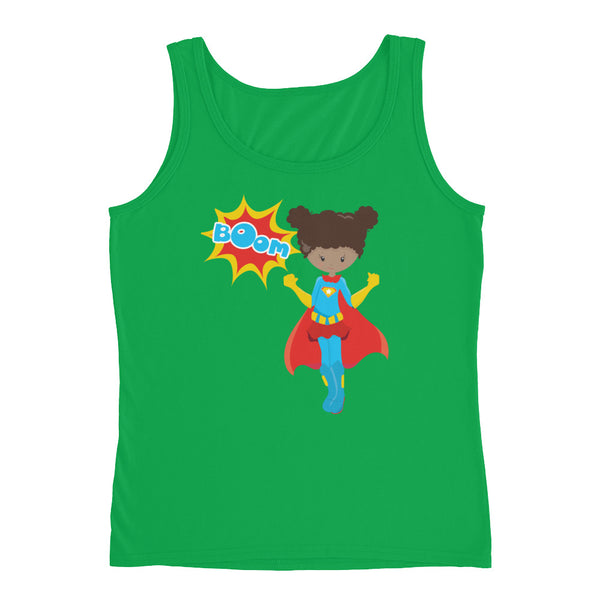 Supergirl Boom Ladies' Tank - Apparelized