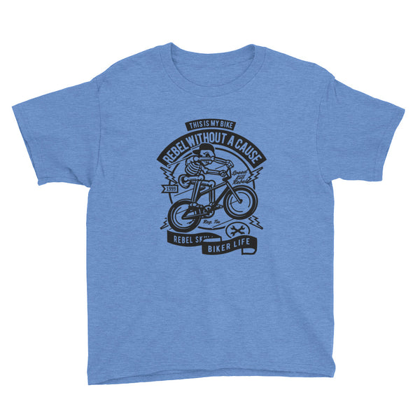 This is my Bike Rebel Youth Short Sleeve T-Shirt - Apparelized