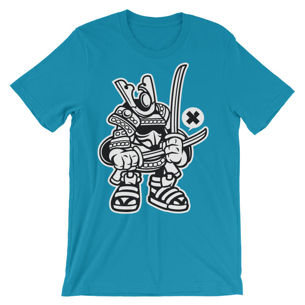 Samurai Unisex short sleeve t-shirt - Apparelized