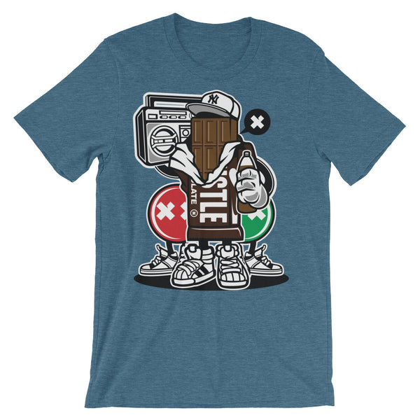 Chocolate Boombox Unisex short sleeve t-shirt - Apparelized