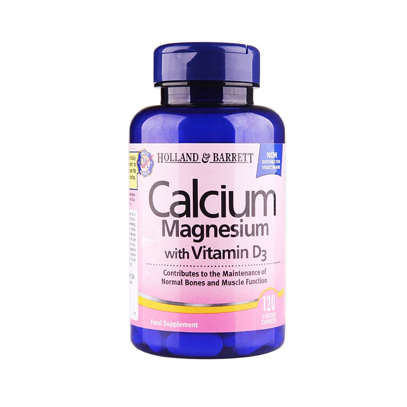 Free shipping Calcium Magnesium Vitamin D3 Compound Tablets Protect Bone 120 capsules
