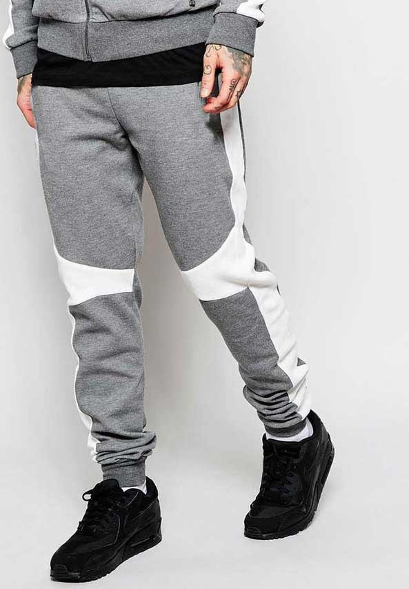Joggers White Panel - Dry Fit Edition