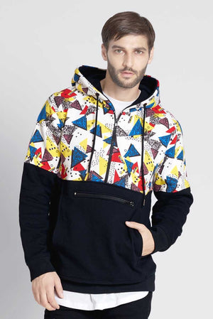 New Era Walala Hoodie With Printed Panel