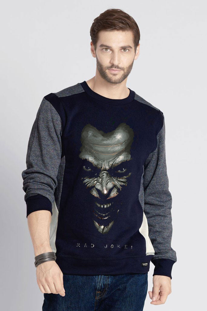 Joker Cut & Sew Printed Sweatshirt
