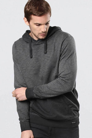 Ombre hoodie gray