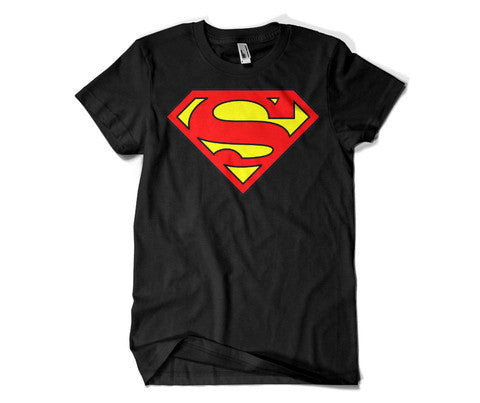 Superman Round Neck T-Shirt.