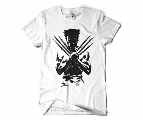 Wolverine Round Neck T-Shirt White.