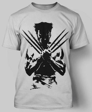 Wolverine Round Neck T-Shirt Gray.