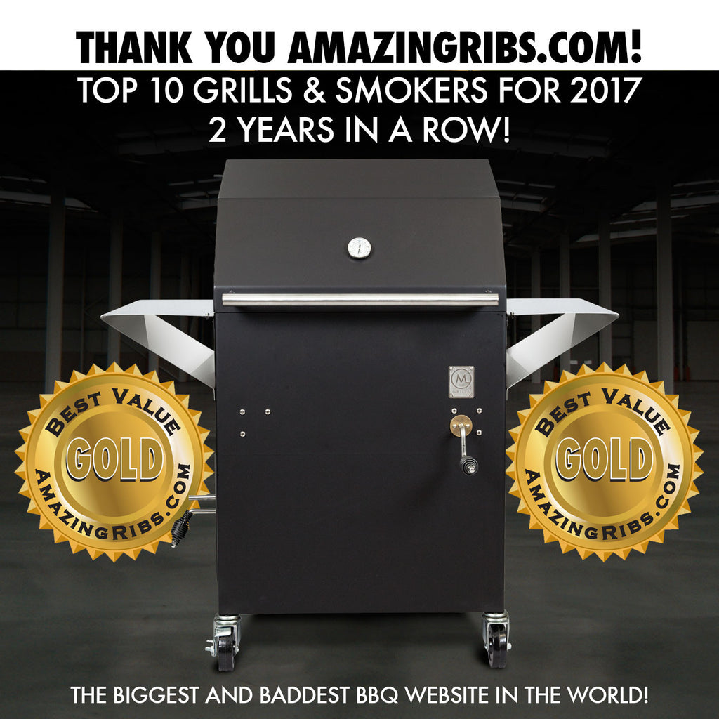 AmazingRibs.com Top 10 Grills and Smokers for 2017