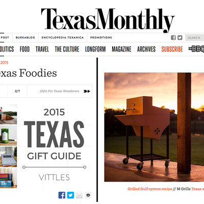 Texas Monthly 2015 Gift Guide
