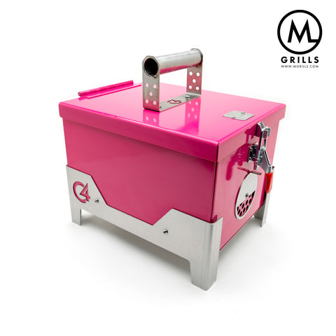 C4 Portable Grill - Gloss Pink