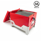 C4 Portable Grill - Gloss Red
