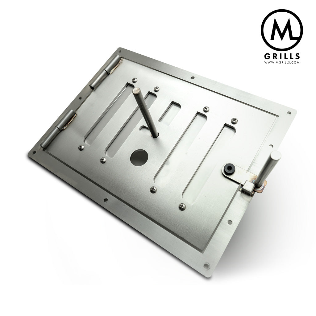 M1 Stainless Firebox Door Assembly