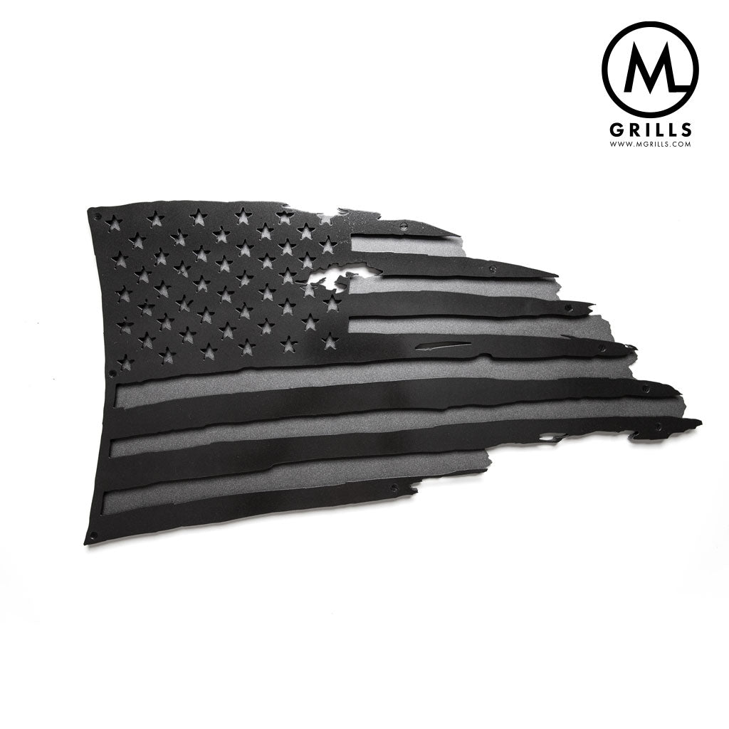 Gray Tone American Flag - M Grills