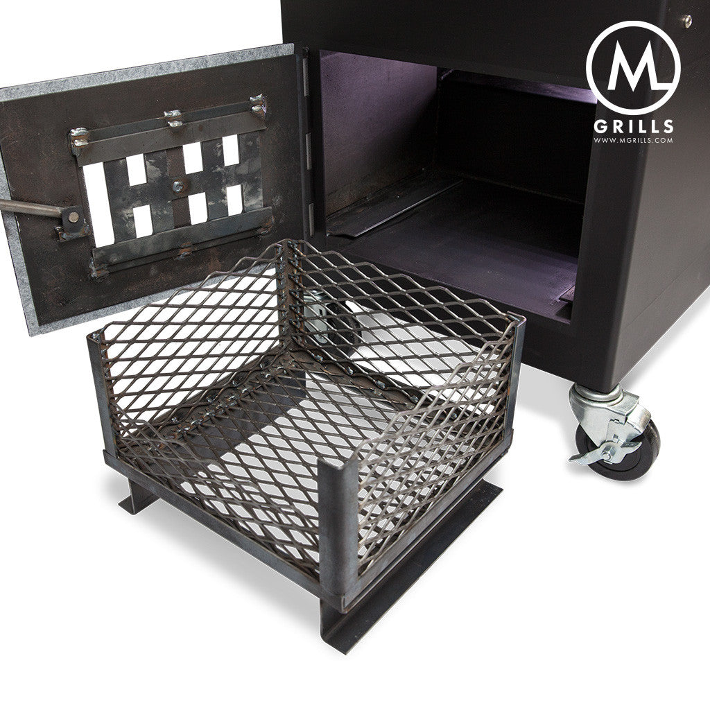 The M1 The Ultimate Charcoal And Wood Grill And Smoker