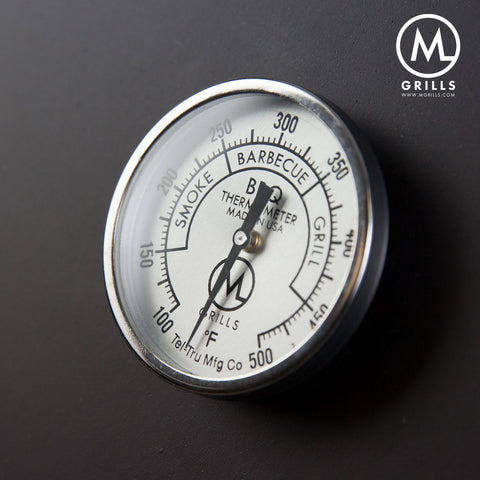 Tel-Tru Replacement Thermometer - M Grills