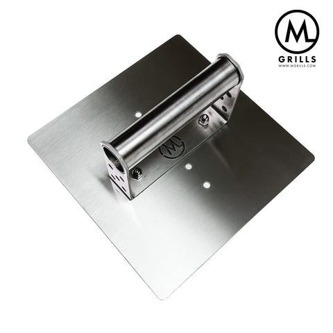 M Grills Stainless Steel Steak and Burger Press