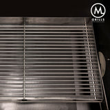 Stainless Charcoal Grate with Sides - M Grills