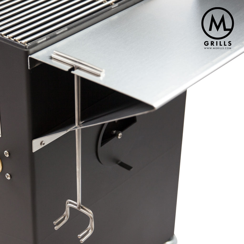 2018 Stainless Side Counter - M Grills