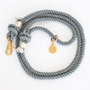 Stylish Cotton Rope Leash - Gray - Pawsome Couture