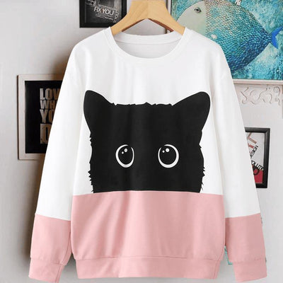 Adorable Kitty Sweatshirt Limited Edition