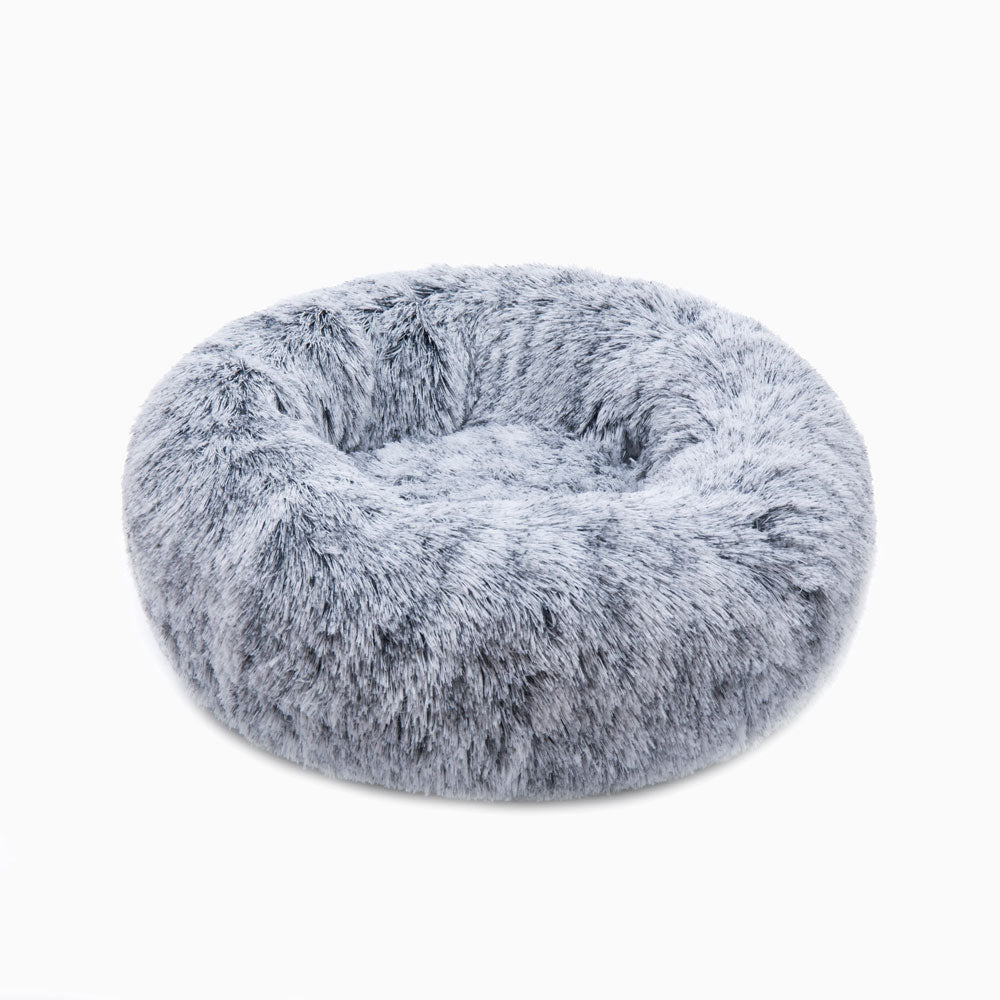 Arctic Black Calming Pet Bed