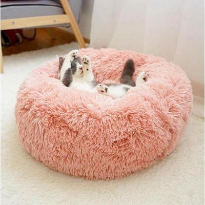 Soothing calming cat bed to reduce cat anxiety