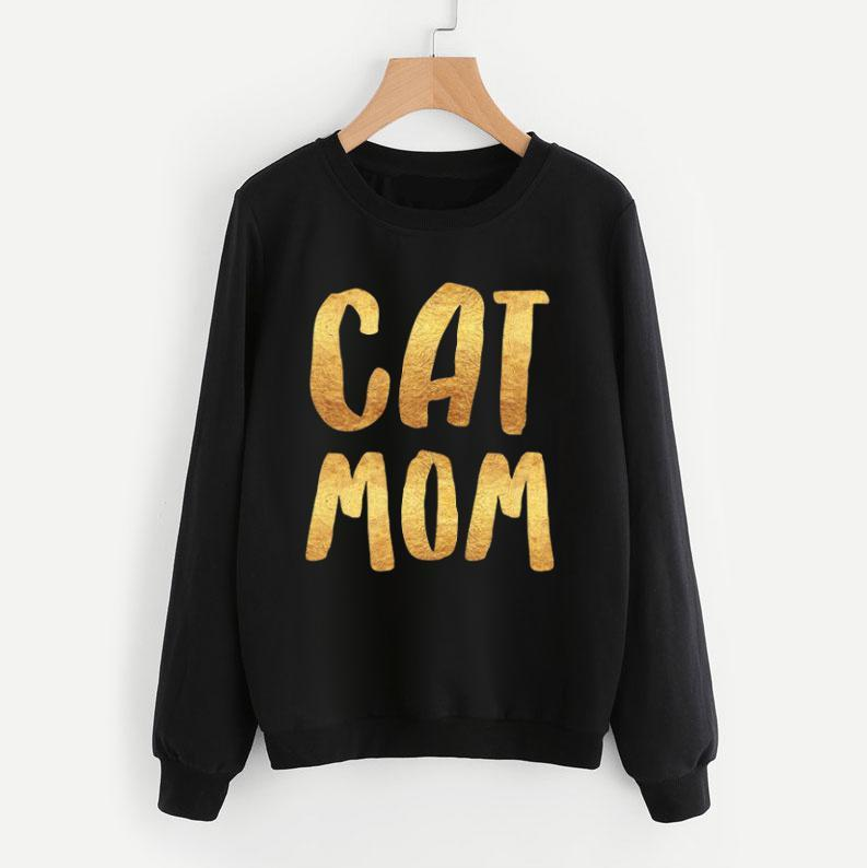 Cat Mom Sweatshirt-Pawsome Couture