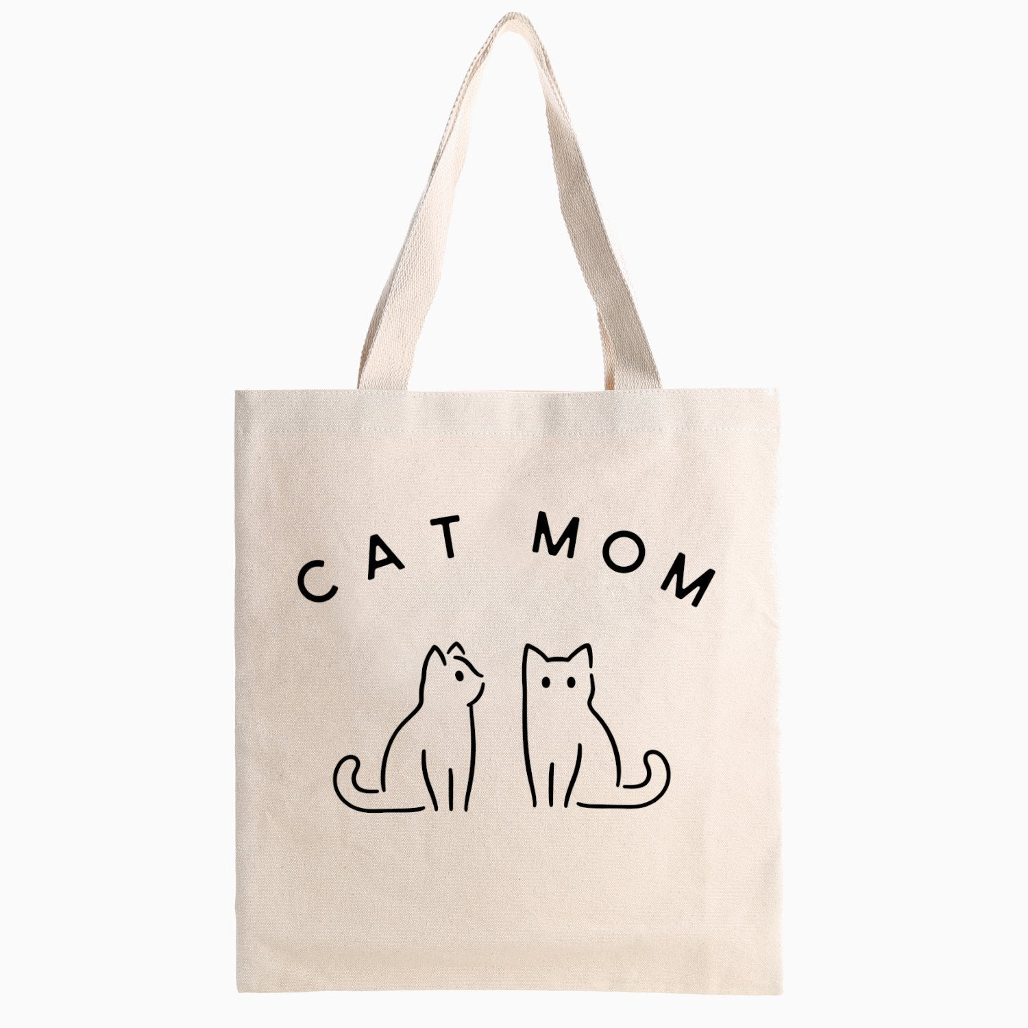 Cat Mom Tote Bag - Pawsome Couture
