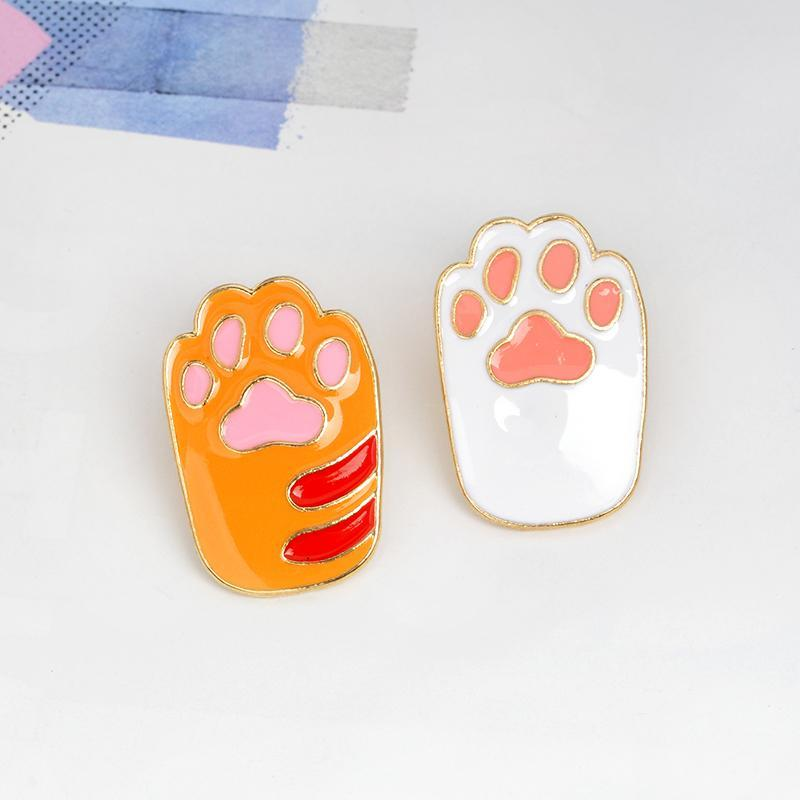 Cat Paw Pins (2 Piece set)